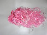 Парик карнавальный Розовый