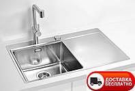 Кухонная мойка Alveus Pure 40L F\S сатин 79*52,5 см, фото 1