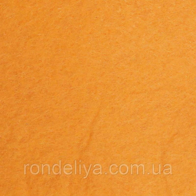 Фетр 3 мм светло оранжевый