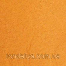 Фетр 3 мм помаранчевий світло