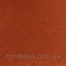 Фетр 3 мм темно оранжевий