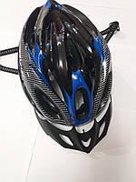 Шлем  черный с синим