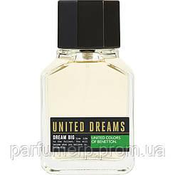Benetton United Dreams Big (100мл), Мужская Туалетная вода Тестер - Оригинал!