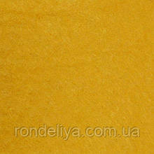 Фетр 3 мм темно жовтий