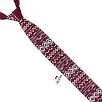 Галстук Bow Tie House с рождественским узором трикотажный  09745