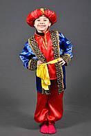 Детский костюм Султан 5-11 лет. Новогодний карнавальный маскарадный костюм на Новый Год