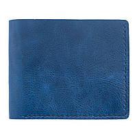 Кошелек Bow Tie House синий классической формы - текстурный глянец 09775