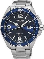 Мужские механические часы Seiko SKA745P1 Kinetic Сейко часы автокварц
