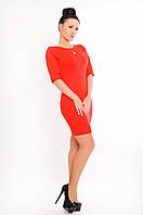 """Облегающее платье """"Натали"""" 48, красный"""