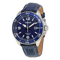 Мужские механические часы Seiko SKA745P2 Kinetic Сейко часы автокварц