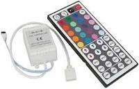 RGB контроллер 6А 72Вт IR для ленты Led