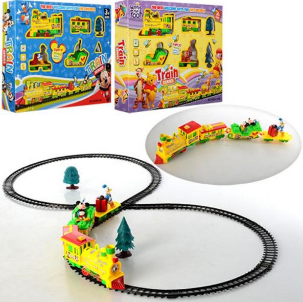 Детская железная дорога.Игрушечная железная дорога.Детский транспорт.Игрушки.