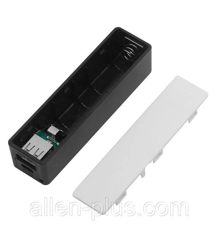 Powerbank Повербанк для одного 18650 Li-Ion пластик (колір випадковий)