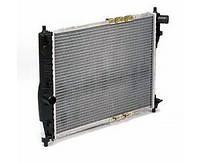Радиатор охлаждения алюминиевый ЛУЗАР LRc 0563 для Daewoo Lanos