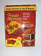 Мешок для запекания картофеля в микроволновке Potato Express