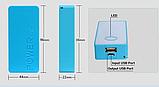 Powerbank Повербанк для 2-х 18650 Li-Ion пластик (цвет случайный), фото 3