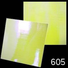 """KATTi Наклейки клейкие """"Битое Стекло"""" 605 полосы лимонно-желтый + голубой 1шт/лист 6х6см"""