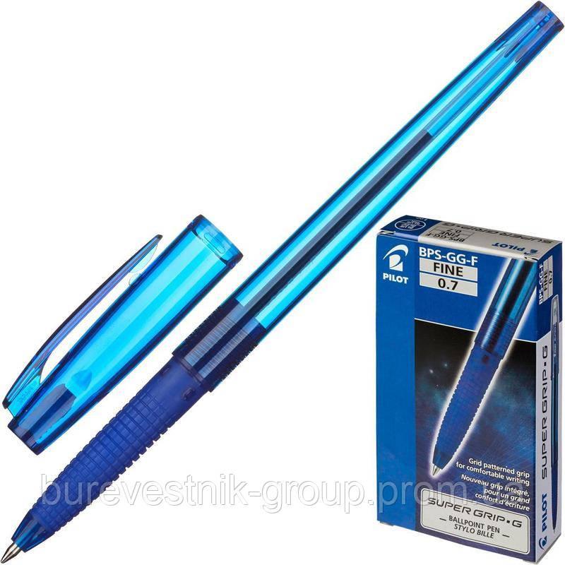 """Ручка Pilot BPS-GG-F-L """"Super Grip G"""" 0.7 синяя"""