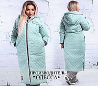 Куртка женская еврозима большого размера Производитель Одесса недорого Украина Россия  ( р. 42-56 )