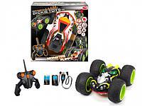 Автомобиль Dickie Toys Внедорожник Монстр трак двухсторонний на р/у со световыми эффектами с зарядным устройством USB 2-канальный 25 см