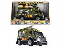 """Функциональный автомобиль Dickie Toys """"Бронированная грузовик """" со световыми и водными эффектами 33 см"""