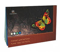Бумага планшет для пастели Бабочка  А4, 20л, 4цвета, 200г/м2
