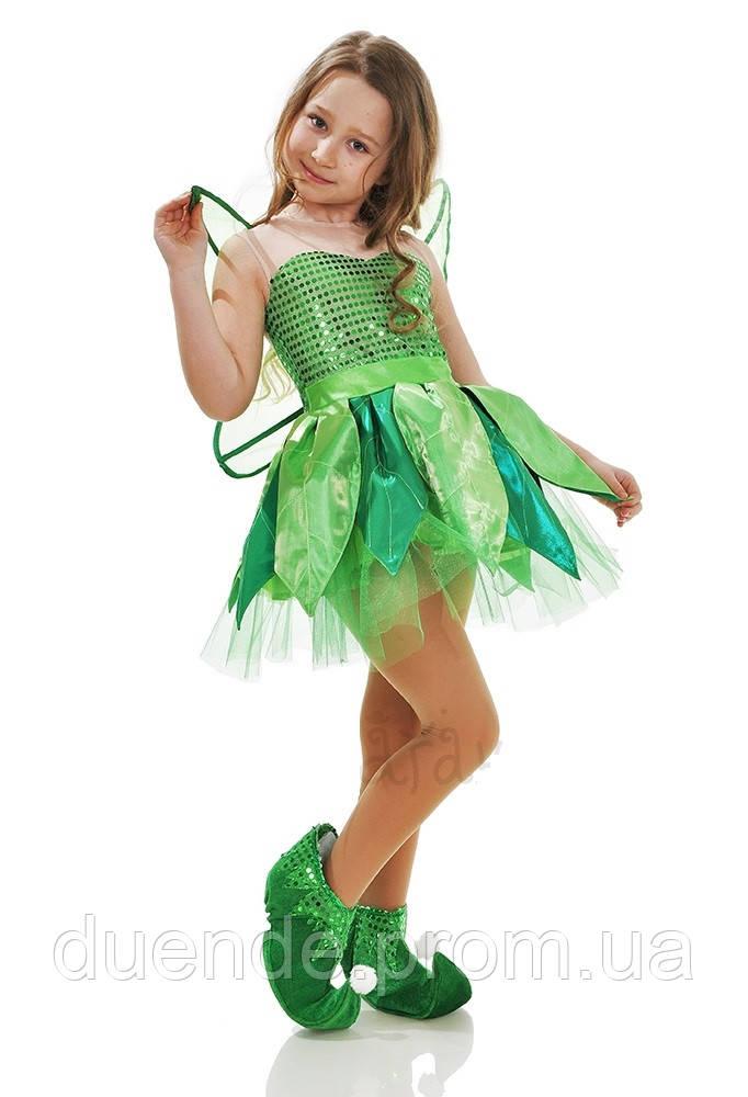 9df217b3c1b1d5 Фея Динь-Динь карнавальный костюм для девочки - Интернет-магазин «Duende» -