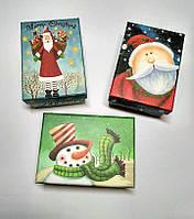 Подарочные коробки Новогодние, 3 шт