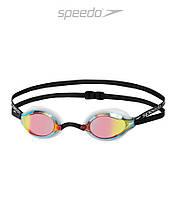 Зеркальные очки для плавания Speedo Speedsocket 2 Mirror (White/Copper)