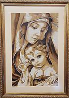 Заготовка для вишивки Мадонна з немовлям 30,5х49см