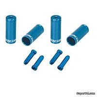 Комплект наконечников Jagwire CHA094-RJ, синий