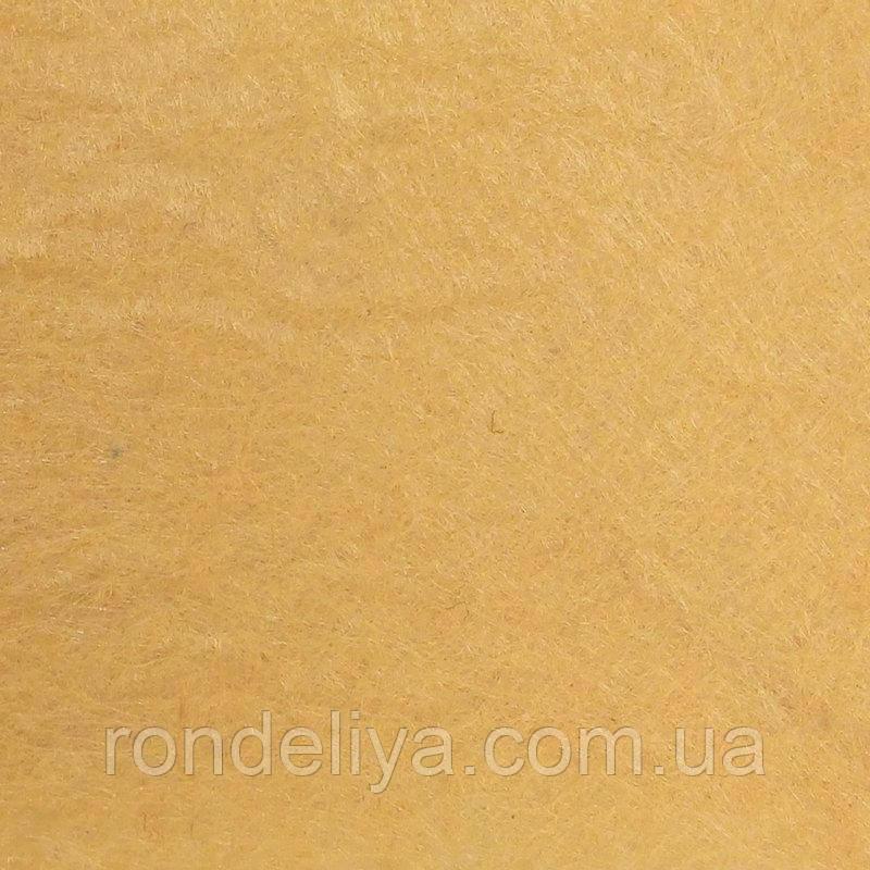 Фетр 3 мм бледно оранжевый
