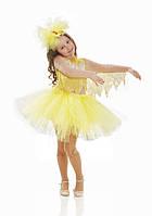Цыпленок карнавальный костюм для девочки, юбка с пачкой