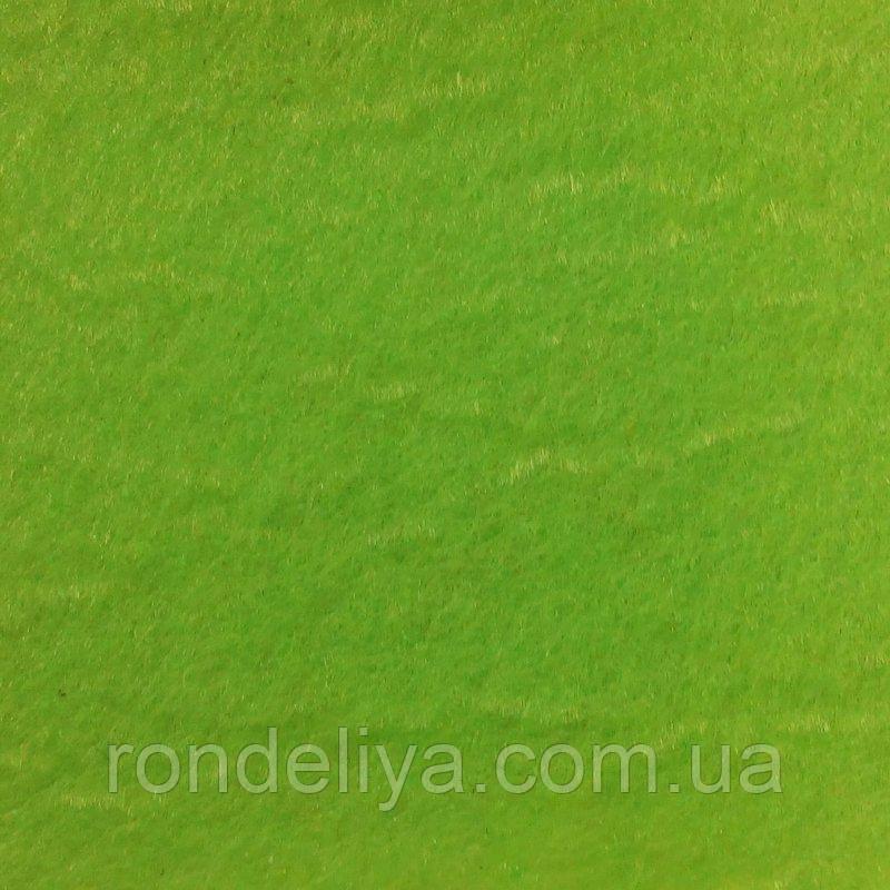 Фетр 3 мм оливково зеленый