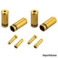 Комплект наконечников Jagwire CHA094-RJ, золотой