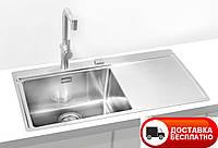 Кухонная мойка Alveus Pure 50L F\S сатин 86*52,5 см