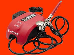 Электрический аэрограф с компрессором Intertool DT-5001