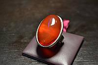 Сердолик кольцо размер регулируемый