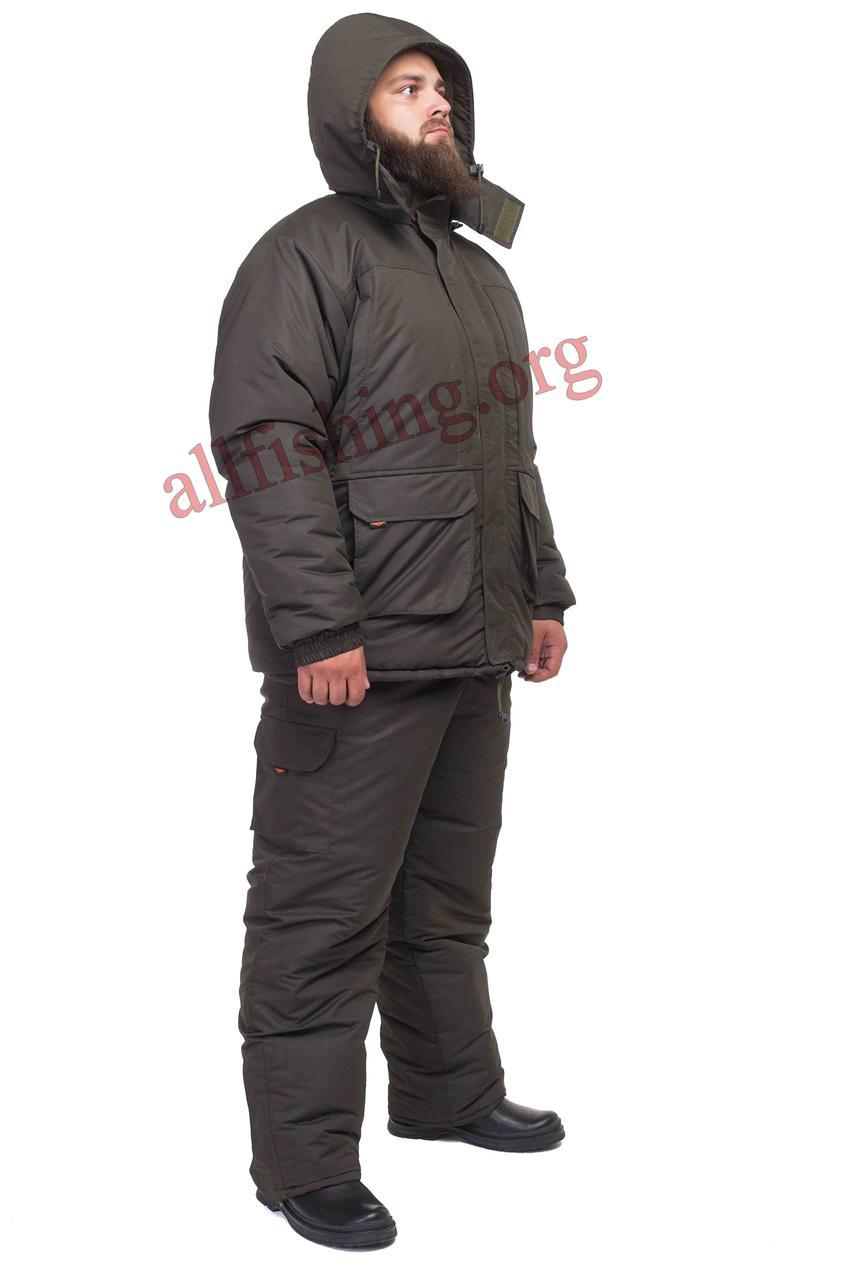 Зимний костюм для охоты -40 ТАСЛАН на мембране