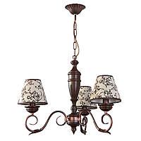Люстра деревянная, 3 ламповая, в классическом стиле 30433