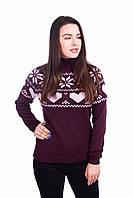 Качетвеный вязаный свитер, фото 1
