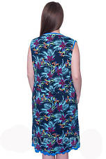 Женский летний халат больших размеров EKREM Wild Love, фото 3