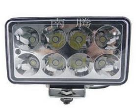 Светодиодная LED фара дальнего света квадратная 45W 44-24