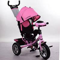 Детский трехколесный велосипед с Фарой кол.AIR: M 3115НА-10 (Нежно-Розовый), фото 1
