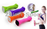 Гантели для фитнеса в ABS оболочке (2 x 0,7кг)  (2шт, ABS покрытие, цвета в ассортименте), фото 1