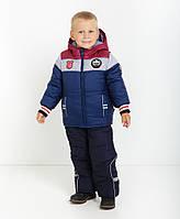 Модный детский зимний комбинезон  Бенеттон Нью 1 , новинка зима 2017, фото 1