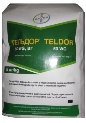 Фунгицид Тельдор 50 % в.г. Bayer - 5 кг
