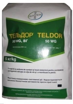 Фунгицид Тельдор 50 % в.г. Bayer - 5 кг, фото 2