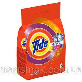 Стиральный порошок Tide Lenor Touch of Scent Color автомат 4,5 кг