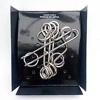 Головоломка металлическая проволочная Гантели (Kaisiqi Puzzle)